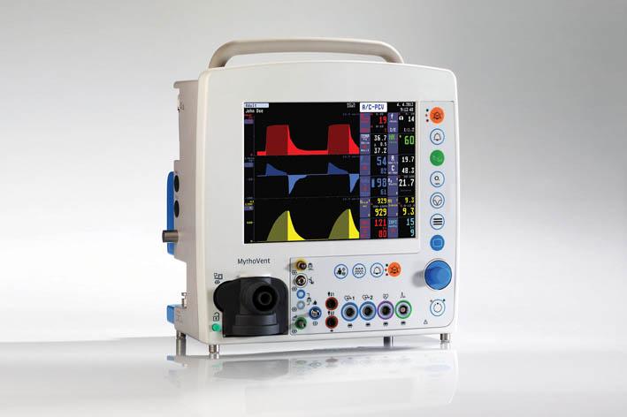 Аппарат искусственной вентиляции легких MythoVent с принадлежностями