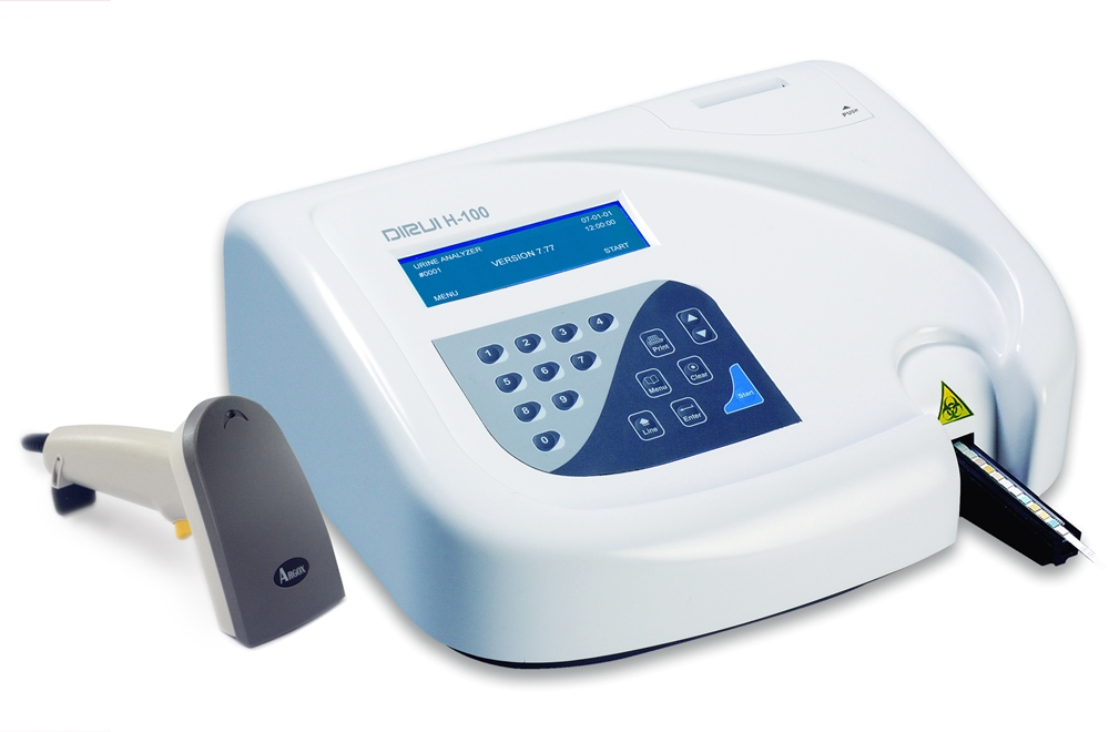 H-100 Полуавтоматический анализатор мочи