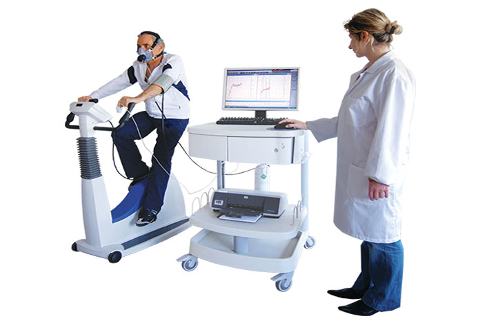 Модульное рабочее место LunoSpiro для регистрации ЭКГ покоя, проведения стресс -ЭКГ и эргоспирометрии