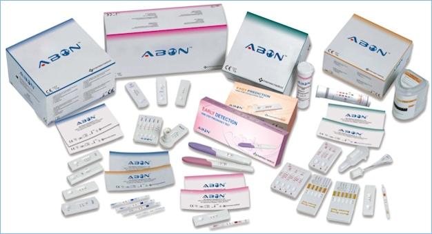 Скрининговая тест-панель для определения 6 наркотиков в моче (в различных вариантах  комплектации тест-полосок)