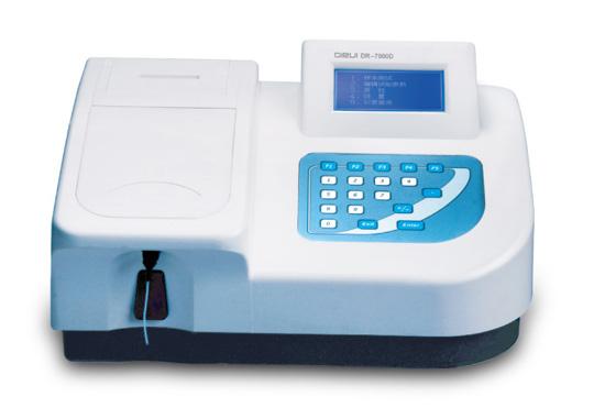 Биохимический полуавтоматический анализатор настольный DR-7000D
