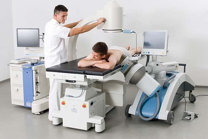 Литотриптер для экстракорпоральной ударно-волновой терапии «Polaris» с принадлежностями